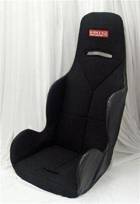 Economy Drag Racing Seat with Black Cover 17.5 Inch Southwest Speed Kirkey 16800