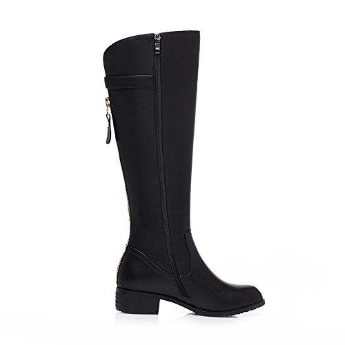 boots Black Donna high Sevenknee Stivali Nine YF76x6