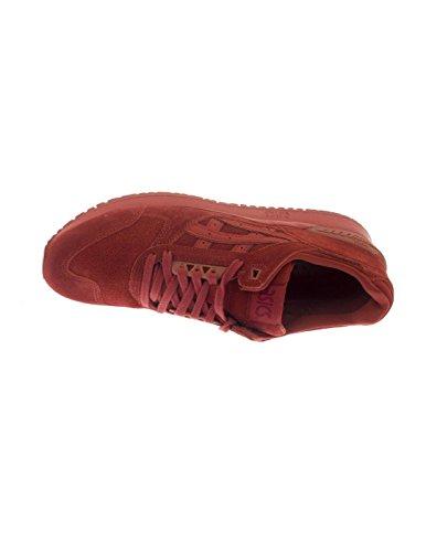 ASICS Hombres Tandori Spice Gel-Respector Zapatillas Rojo