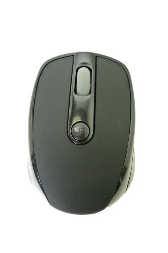 """LB1 High Performance New Optical Mouse 2.4G Wireless Compact Portable Mousefor HP ENVY TouchSmart 23-d027c 23"""" All-in-One Desktop (2.7 GHz Intel Core i5-3330S Processor, 8 GB RAM, 1 TB Hard Drive, DVD-RAM/±R/±RW, Windows 8 64-bit) Black4 DPI Levels (800/1200/1600/2400) 6 ButtonsGaming Mouse"""