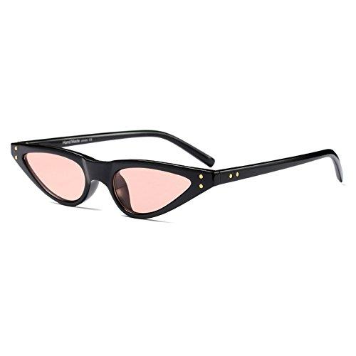 UV400 C6 Cat Vintage Femmes Sunglasses soleil de Eye Juleya Lunettes Small qazvWv