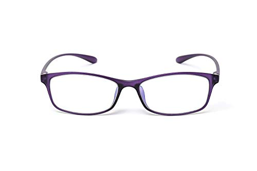 MIDI Colors Blue Light Blocking Reading Glasses for Women (M-209) Blue Light Filter Readers 1.0 1.5 2.0 2.5 3.0 (+2.00, Purple)(m209c9200)