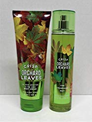 Body Cream Leaves (Bath and Body Works Crisp Orchard Leaves Ultra Shea Body Cream and Fine Fragrance Mist 8 Oz)