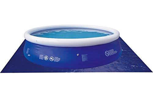 Jilong 6926799207076 Poll GC Bodenplane für runde Pools, 330 x 330 cm, blau