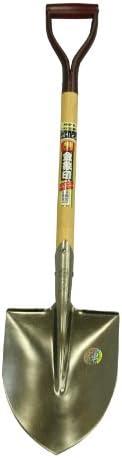 浅香工業 金象印 A柄磨きショベル丸形