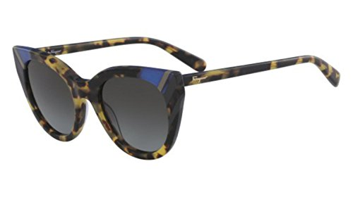 Salvatore Ferragamo Women's SF867SL Tokyo Tortoise/Grey Gradient One Size (Salvatore Ferragamo Gray Sunglasses)