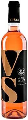 VI REI SELECT ROSADO. VINO ROSADO. Vino vegano. Variedad de uva: Merlot, Cabernet Sauvignon, Manto Negro, Callet.