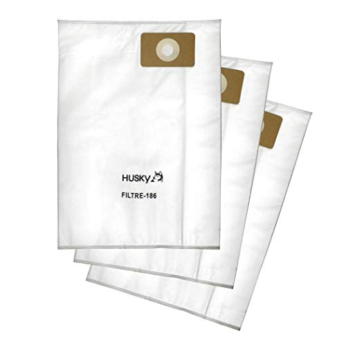 (Husky High Performance Replacement Filter Bags - 6.2 gal. for Storm, Eclipse and Equinox Models (Pack of 3 Filtration Bags))
