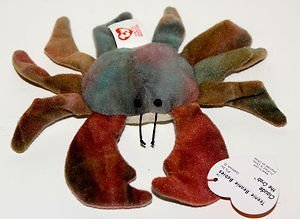 Image Unavailable. Image not available for. Colour  TY Teenie Beanie Babies  Claude the Crab ... c7a2205ecee