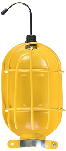 Mfg Metal - ALERT STAMPING & MFG RHC-100 Replacement Metal Trouble Light Bulb Guard, Yellow