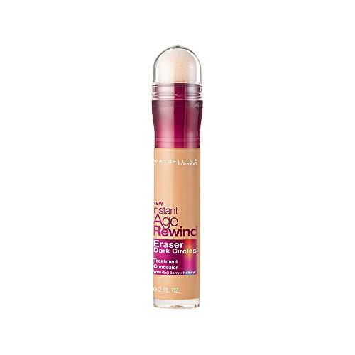 - Maybelline New York Instant Age Rewind Eraser Dark Circles Treatment Concealer, Medium, 0.2 fl. oz.