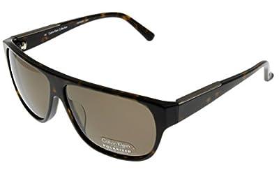 Calvin Klein Collection Sunglasses Mens Havana Polarized CK7906SP 214
