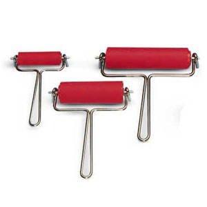 Linol-Farbwalze mit Drahtbügel, Breite 90 mm [Spielzeug]