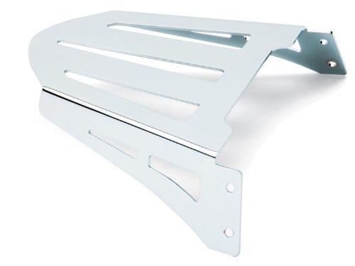(02-09 YAMAHA XV17PC: Cobra Formed Sissy Bar Luggage Rack (CHROME))