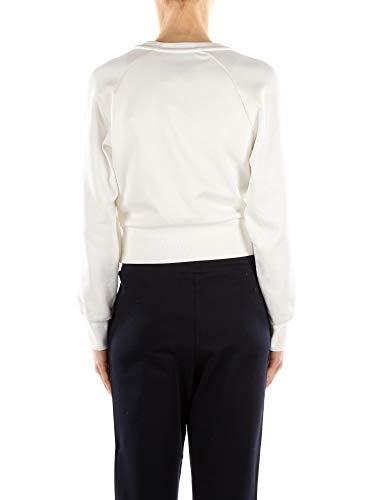 Mujer Moschino Blanco a17140541 Poliamida Sudaderas RUw1qa5v