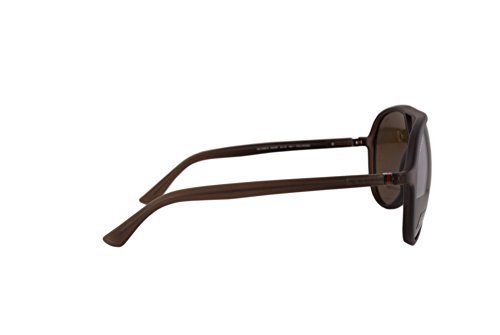 2610d7c0a15 Gucci GG1090 S Sunglasses Brown w Polarized Bronze Lens B00SP GG ...