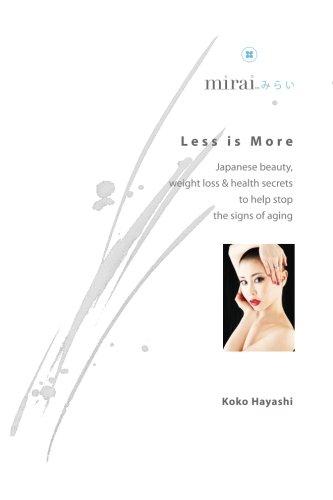 Less More Japanese beauty secrets product image