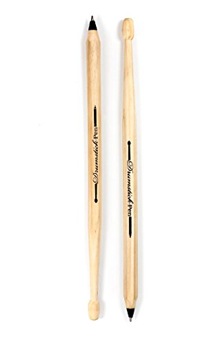 Suck.UK Drumstick Pens, Black (SK DRUMPEN2) -