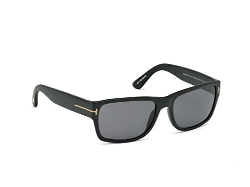 Tom Ford Men's Mason TF445 TF445/S 02D Black Fashion Sunglasses ()