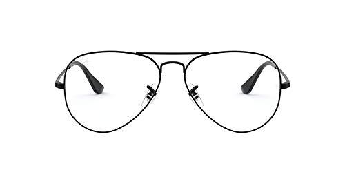 Ray-Ban Women's Rx6489 Metal Aviator Prescription Eyeglass Frames