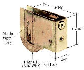 Sliding Glass Patio Door Roller, 1 1/2u0026quot; Stainless Steel Wheel,