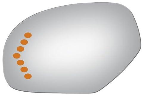 2007-2008 CHEVROLET TRUCK SUBURBAN Flat, Driver Side Replacement Mirror Glass - Suburban Driver Mirror Glass