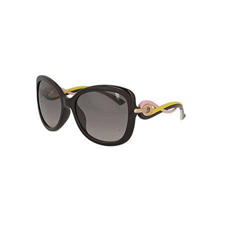 2c2fd7b6197c0 Dior Black Lunettes Pour Twisting de Femme Shiny soleil Dior Grey rrawO6fq