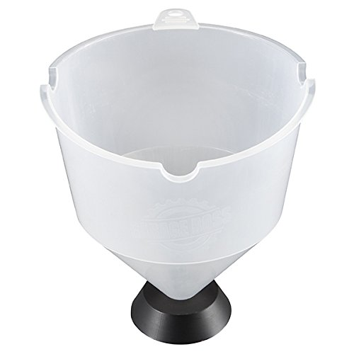 GarageBOSS Clear 3.5 Quart Large Capacity Weighted Funnel, 1 Pack