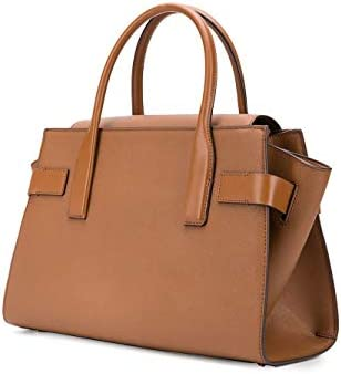 Luxury Fashion | Michael Kors Woman 30S0GNMS7L230 Brown Leather Handbag | Spring Summer 20