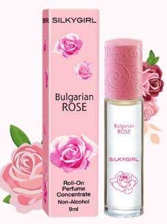 SILKY GIRL Roll On Perfume Bulgarian Rose 9ml -is Created for The Girl who Appreciates The Finer Things in Life as Well as exudes an air of Elegance
