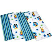 Disney Baby Mickey Mouse Best Friends Flannels, Set of 4 ()