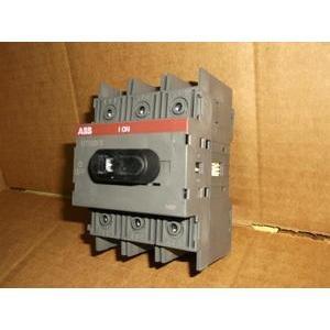 ABB OT100F3 Non-Fused Disconnect, 100 Amp, 3-Pole