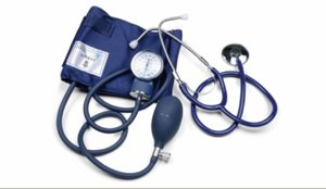 - Self-Taking Blood Pressure Kit with separate stethoscope, Large Adult
