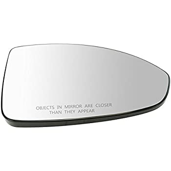 Amazon Com Exterior Side View Mirror Glass W Backing