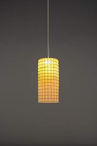 (Bruck Lighting 223114ch/MP Sierra 1 LED Pendant with 4