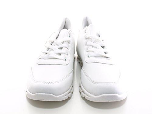 Damen Sport Schuhe Weiß # 018 White