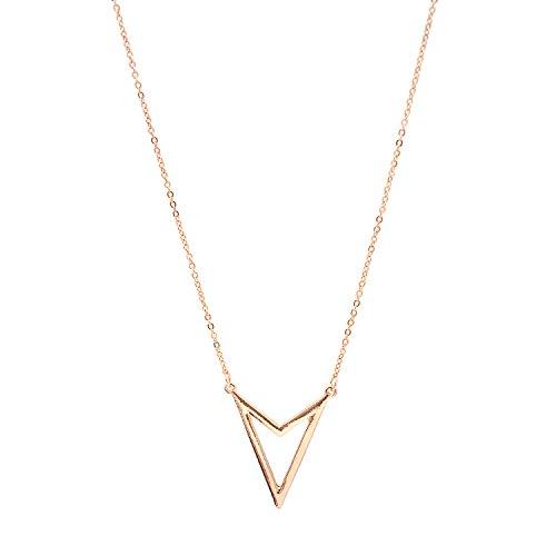 Jewelry Necklace Simple Open Arrowhead