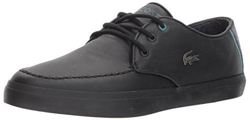 Lacoste Men's Sevrin 417 1 Sneaker Black/Black discount fast delivery S0ojshN