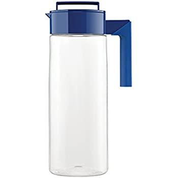 Takeya Patented and Airtight Pitcher Made in the USA, 2 Quart, Blueberry