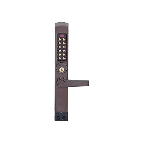 Kaba Simplex 3002-55-41 Thumbturn Mechanical Pushbutton Lock Aluminum Glass Door