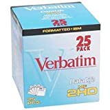 Verbatim Corporation : 3-1/2'' Diskettes, PC Format, 1.44MB Capacity, 25/BX -:- Sold as 2 Packs of - 25 - / - Total of 50 Each
