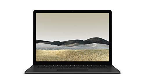 Microsoft Surface Laptop 3 – Ordenador portátil de 15″ táctil (AMD Ryzen 5-3580U, 8GB RAM, 256GB SSD, AMD Radeon Vega 9, Windows 10 Home) Negro – Teclado QWERTY Español