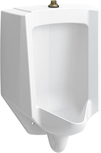 (KOHLER 4991-ETSS-0 Bardon Urinal, White)