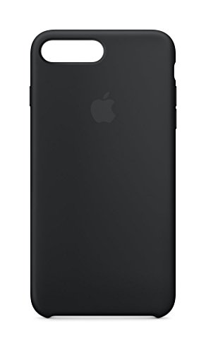 Apple Silicone Case (for iPhone 8 Plus / iPhone 7 Plus) - Black - MQGW2ZM/A
