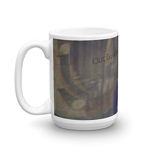 Tyna Ho Outlander Collage Mugs Durable Ceramic With An Handle 15 Oz