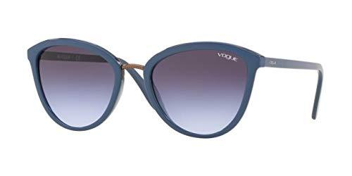 Vogue 0VO5270S Gafas de sol, Top Transparente Blue, 57 para ...