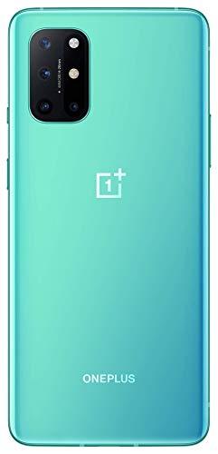 """OnePlus 8T Smartphone 6.55 """"120 Hz FHD + Display Fluido, 12 GB di RAM + 256 GB di Spazio di Archiviazione, Quad camera, 65 W Warp Charge, Dual SIM, 5G, Aquamarine Green 3"""