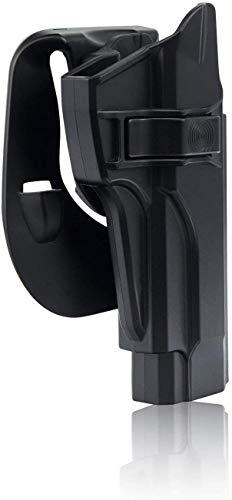 efluky Beretta Holster Ceinture Airsoft Pistolet Defense Gun Holster for Beretta 92fs, 92FS INOX, M9, Chiappa M9, M9_22… 5