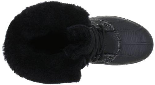 Aventura Women Botas Luxe Duck Mujer Para Boot charcoal Negro black De Allcast Crocs x0XZwSq