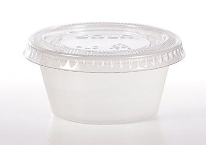 Amazoncom Solo Souffles Clear Plastic Portion Container Bundle